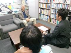 Fレックス会長の山川先生のインタビュー