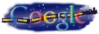 宮沢賢治 銀河鉄道の夜Googleロゴ