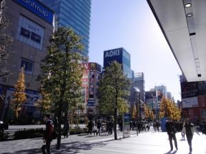 日本を代表する電化製品街、秋葉原