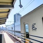 新幹線の高架をローカル線が走る! – 単純にワクワク